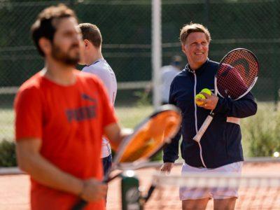Tennis coaching in North London